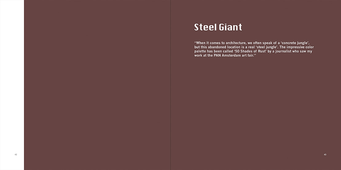 Steel Giant, Manmade / no human book