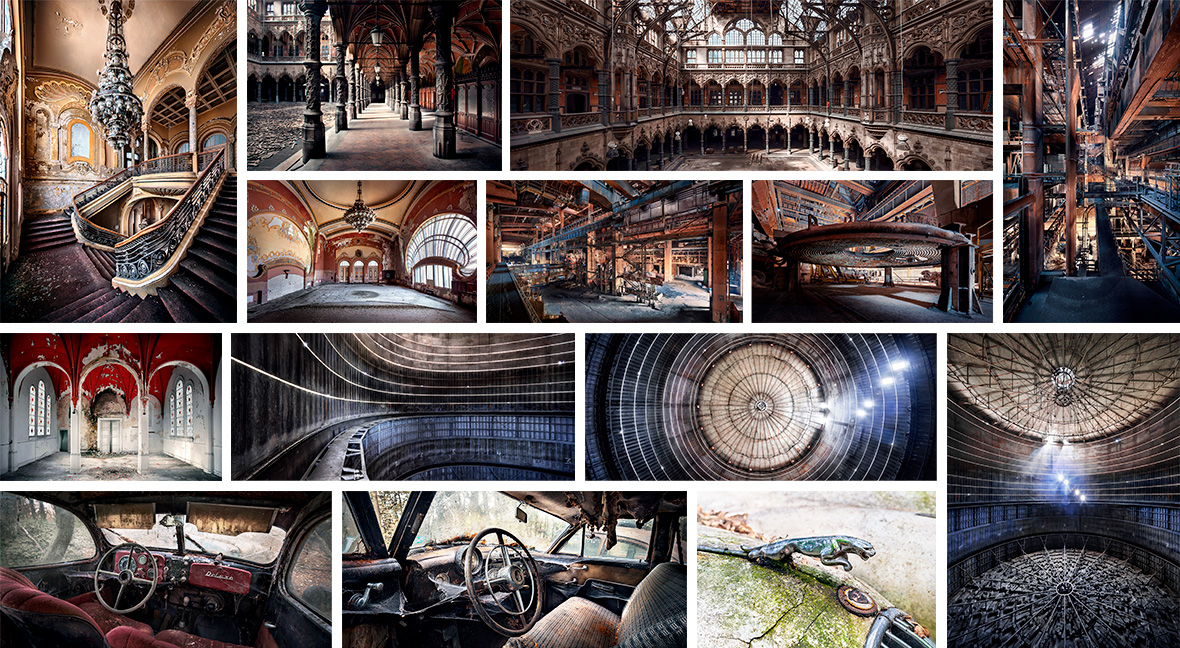 Jan Stel, urban exploration and abandoned places